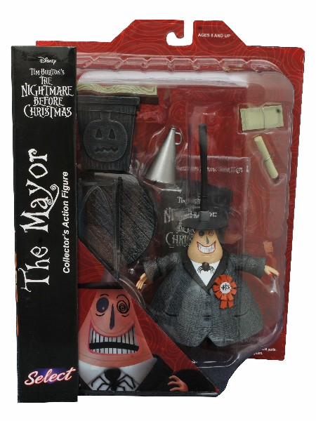 Diamond Select Toys Nightmare Before Christmas The Mayor Figure